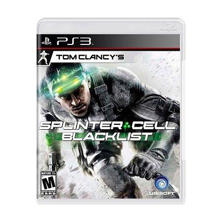 Jogo Tom Clancy's Splinter Cell: Blacklist - PS3