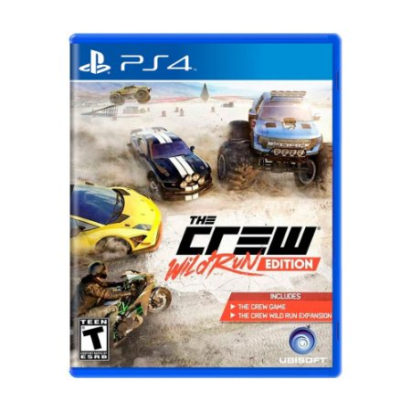 Jogo The Crew (Wild Run Edition) - PS4