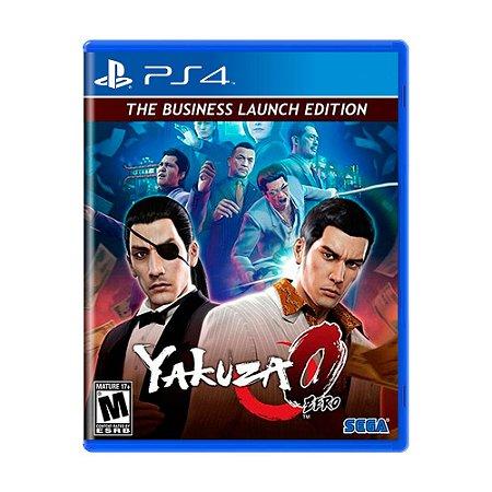 Jogo Yakuza Zero (The Business Launch Edition) - PS4