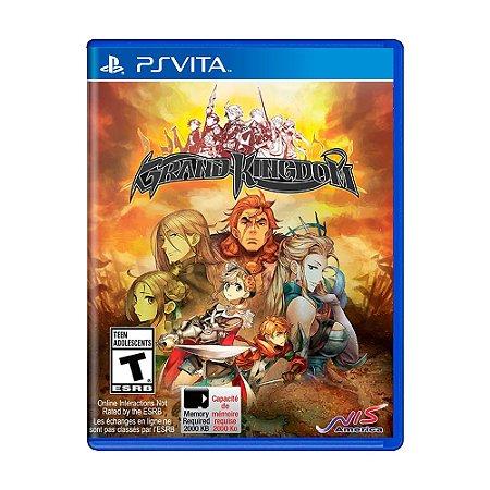 Jogo Grand Kingdom - PS Vita