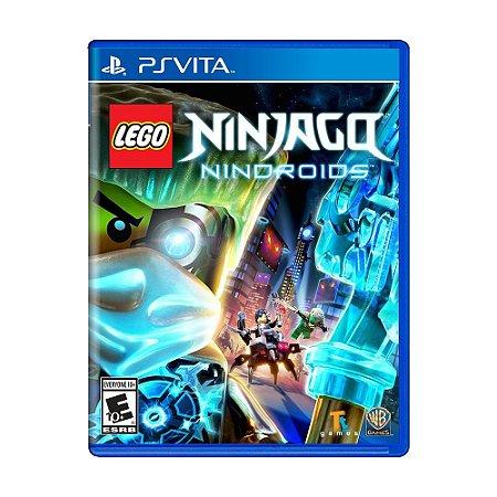 Jogo LEGO Ninjago Nindroids - PS Vita