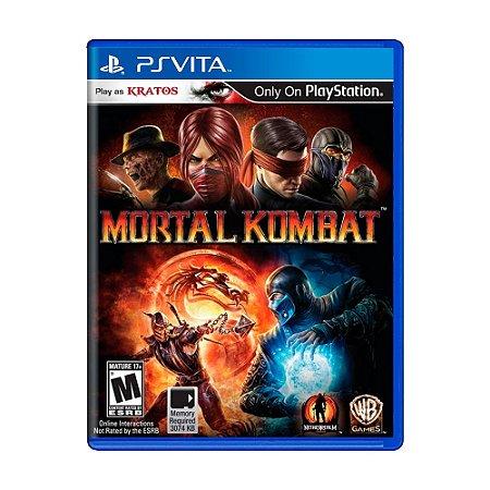 Jogo Mortal Kombat - PS Vita