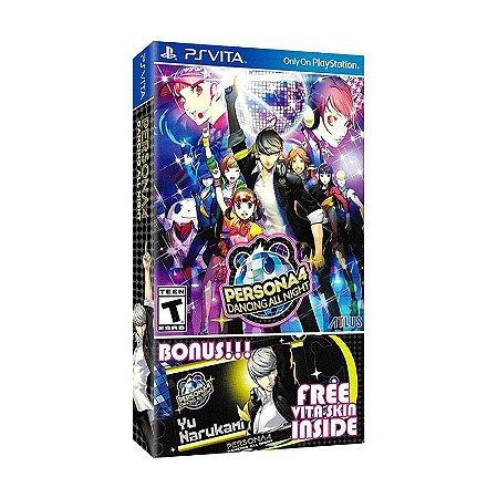 Jogo Persona 4: Dancing All Night - PS Vita