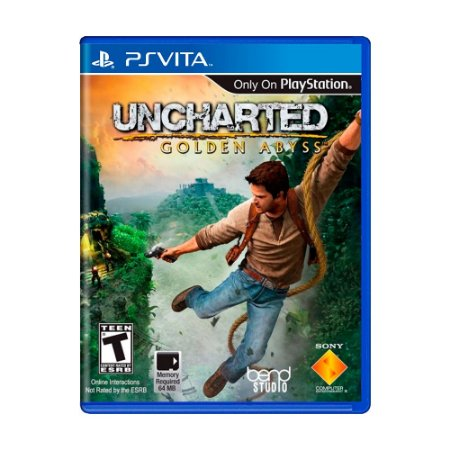 Jogo Uncharted: Golden Abyss - PS Vita
