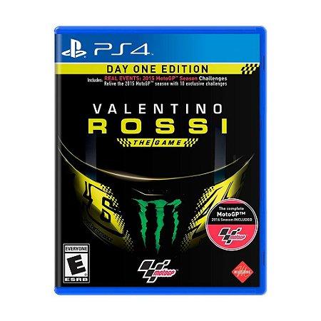 Jogo Valentino Rossi (Day One Edition) - PS4