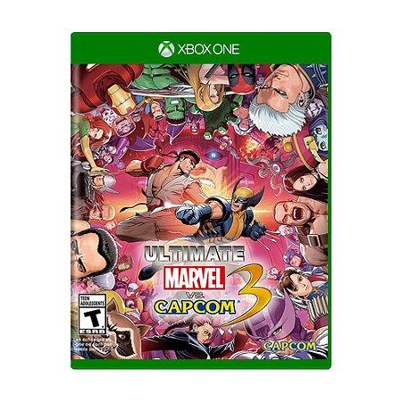 Jogo Ultimate Marvel Vs Capcom 3 - Xbox One