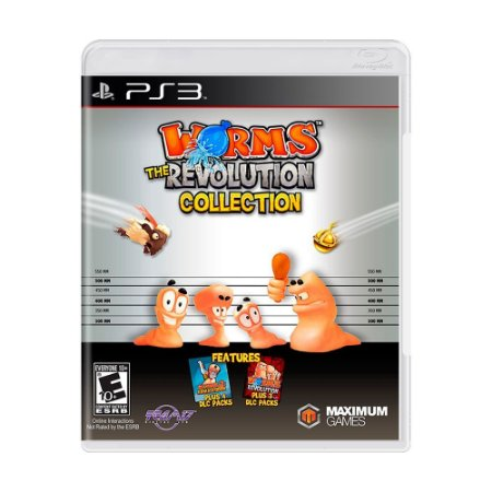 Jogo Worms: The Revolution Collection - PS3
