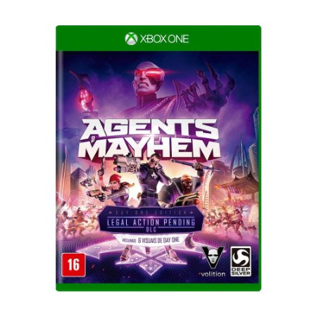 Jogo Agents of Mayhem (Day One Edition) - Xbox One