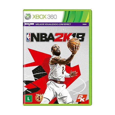 Jogo NBA 2K18 - Xbox 360