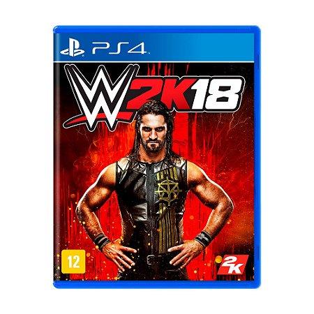 Jogo WWE 2K18 - PS4