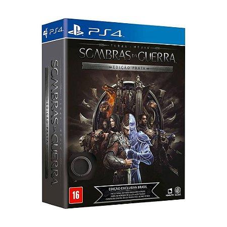 Jogo Terra-média: Sombras da Guerra (Edição Prata) - PS4