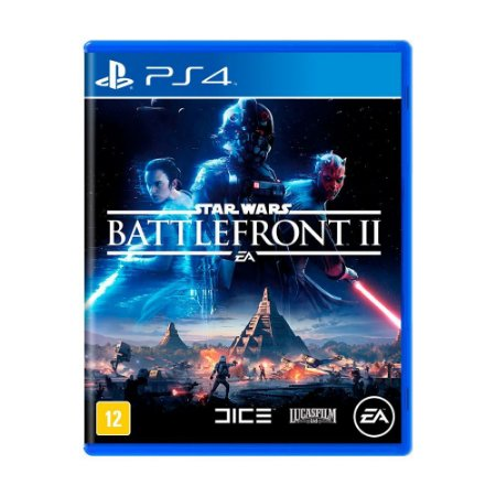 Jogo Star Wars Battlefront II - PS4