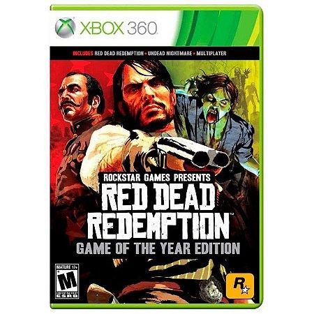 Jogo Red Dead Redemption (GOTY) - Xbox 360