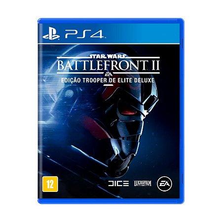 Jogo Star Wars Battlefront II (Edição Trooper de Elite Deluxe) - PS4