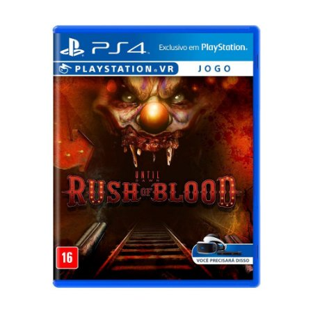 Jogo Until Dawn: Rush of Blood - PS4 VR