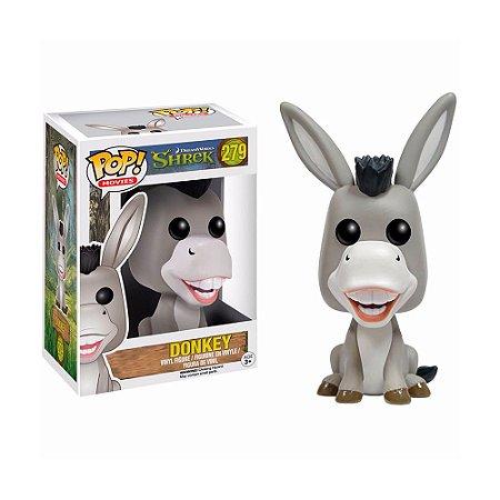 Boneco Donkey (Burro) 279 Shrek - Funko Pop