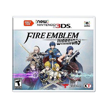 Jogo Fire Emblem Warriors - New 3DS