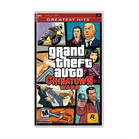 Jogo Grand Theft Auto: Chinatown Wars (GTA) - PSP