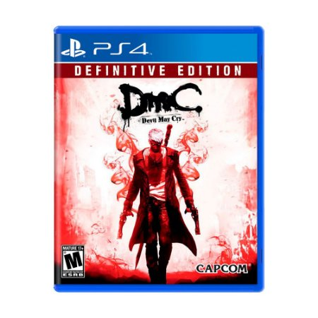 Jogo DmC: Devil May Cry (Definitive Edition) - PS4