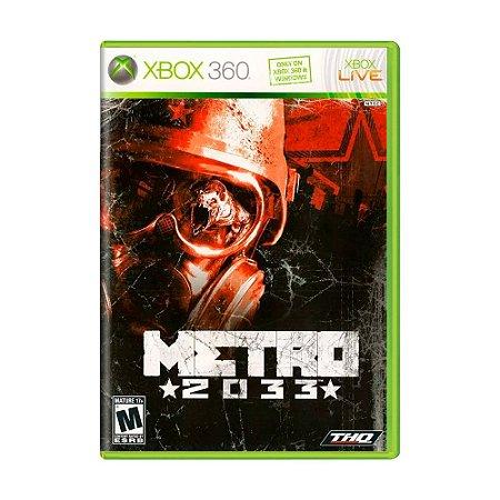 Jogo Metro 2033 - Xbox 360