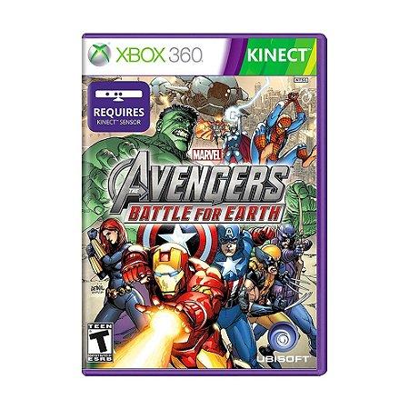 Jogo Marvel's The Avengers: Battle For Earth - Xbox 360