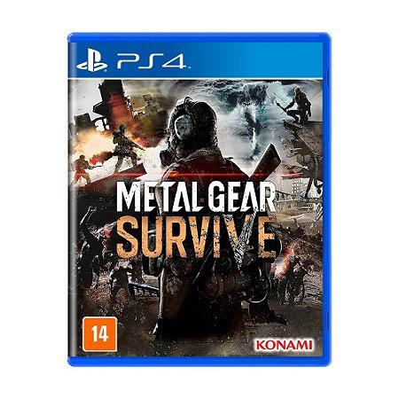Jogo Metal Gear Survive - PS4