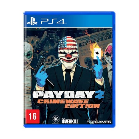 Jogo PayDay 2 (Crimewave Edition) - PS4