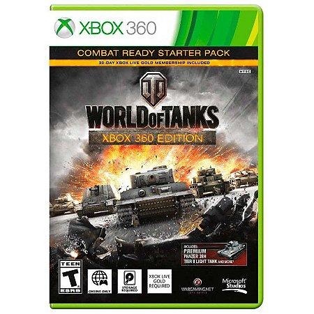 Jogo World of Tanks: Combat Ready Starter Pack - Xbox 360
