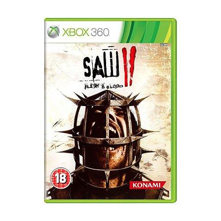 Jogo Saw II: Flesh & Blood - Xbox 360