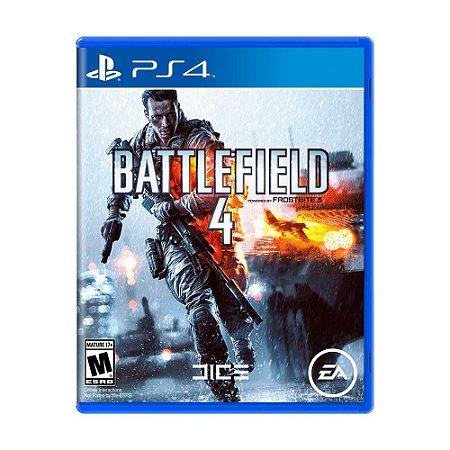 Jogo Battlefield 4 (BF4) - PS4
