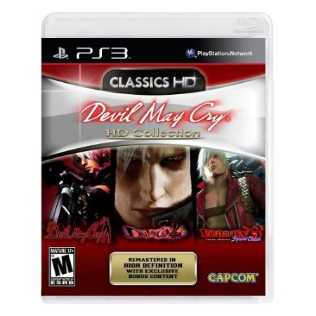 Jogo Devil May Cry HD Collection - PS3