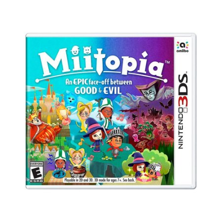 Jogo Miitopia: An Epic Face-off Between Good and Evil - 3DS