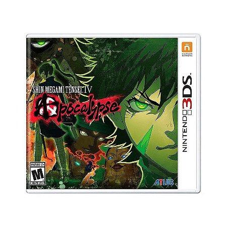 Jogo Shin Megami Tensei IV: Apocalypse - 3DS