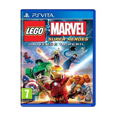 Jogo LEGO Marvel Super Heroes (Universe in Peril) - PS Vita