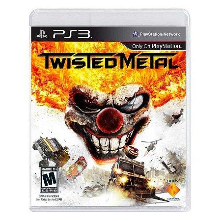 Jogo Twisted Metal - PS3
