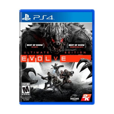 Jogo Evolve: Ultimate Edition - PS4