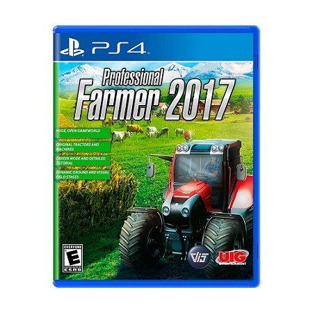 Jogo Professional Farmer 2017 - PS4