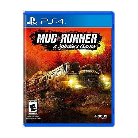 Jogo Spintires: MudRunner - PS4