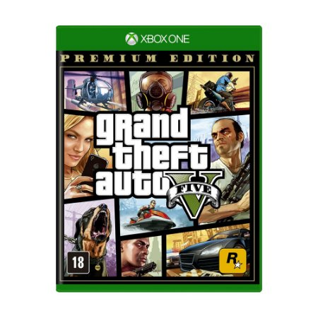 Jogo Grand Theft Auto V (Premium Online Edition) - Xbox One