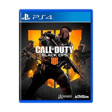 Jogo Call of Duty: Black Ops 4 - COD BO4 - PS4