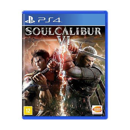 Jogo SoulCalibur VI - PS4