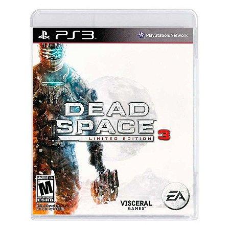 Jogo Dead Space 3 (Edição Limitada) - PS3