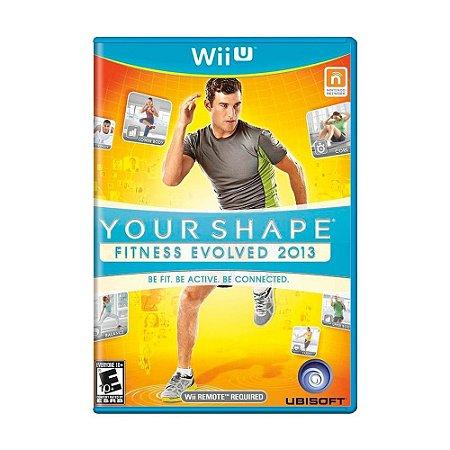 Jogo Your Shape: Fitness Evolved 2013 - Wii U