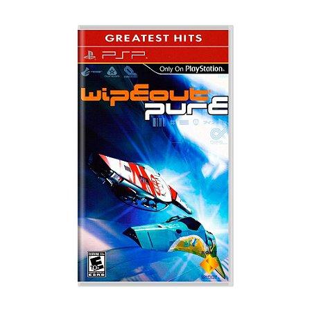 Jogo Wipeout Pure - PSP