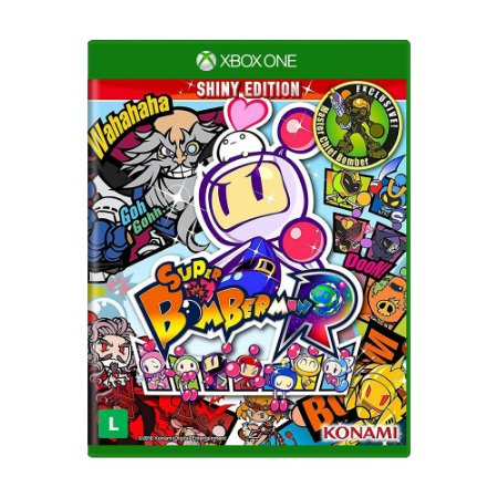 Jogo Super Bomberman R (Shiny Edition) - Xbox One