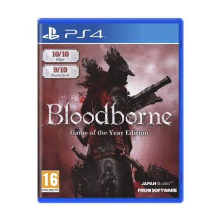 Jogo Bloodborne (Game of the Year Edition) - PS4