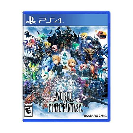 Jogo World of Final Fantasy - PS4
