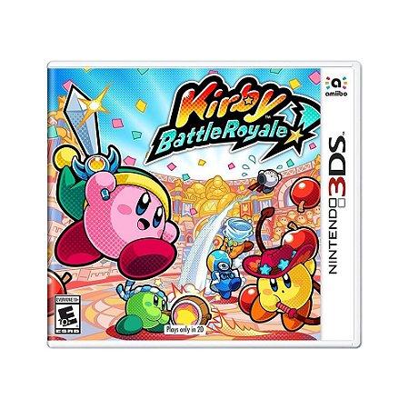 Jogo Kirby Battle Royale - 3DS