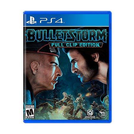 Jogo Bulletstorm (Full Clip Edition) - PS4