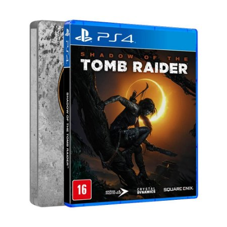 Jogo Shadow of the Tomb Raider (Steelbook Edition) - PS4